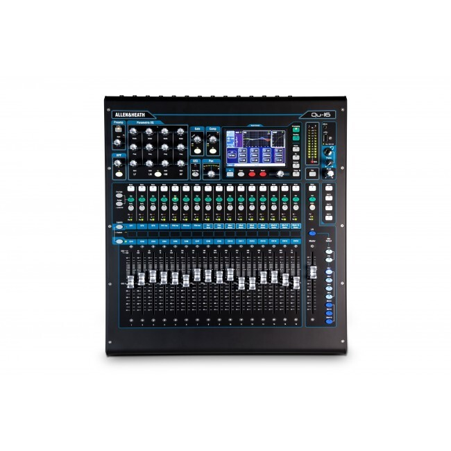 Allen & Heath QU-16 | Mezclador Digital con 16 Canales Chrome Edition
