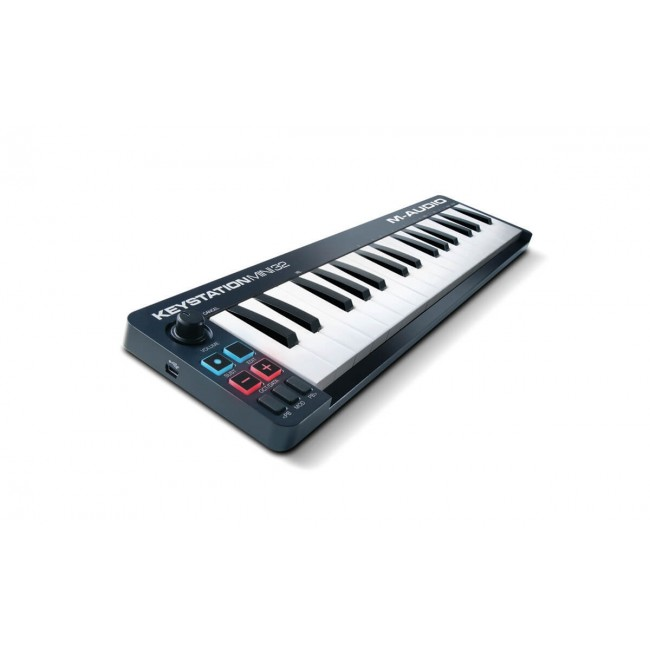 M-Audio KEYSTATIONMINI32II | Controlador MIDI/USB de 32 mini teclas