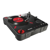 Numark PT01SCRATCH | Giradiscos Portable con preamp y USB out / headph.